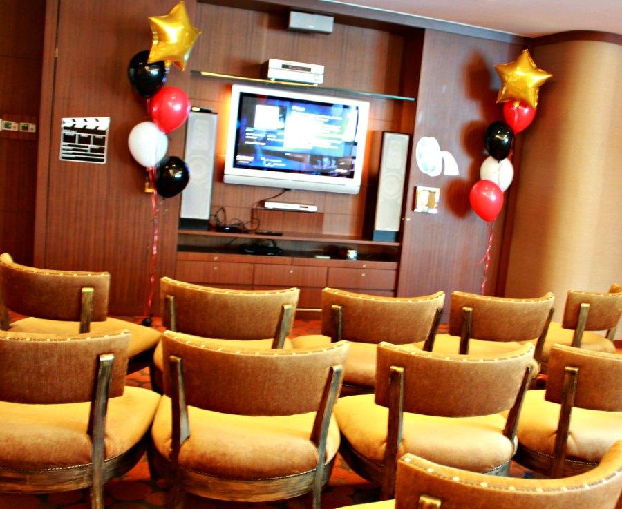 Movie Night Themed Kids Birthday Party