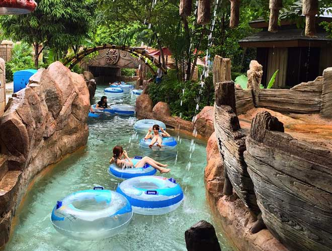 Singapore Waterpark Swimming Kids Outdoor Playground