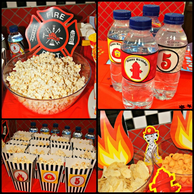 Firefighter Snacks 2