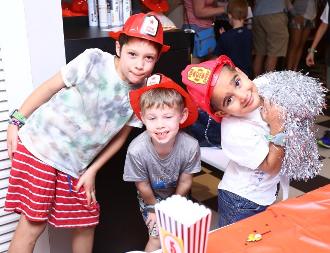 firefighter themed birthday party
