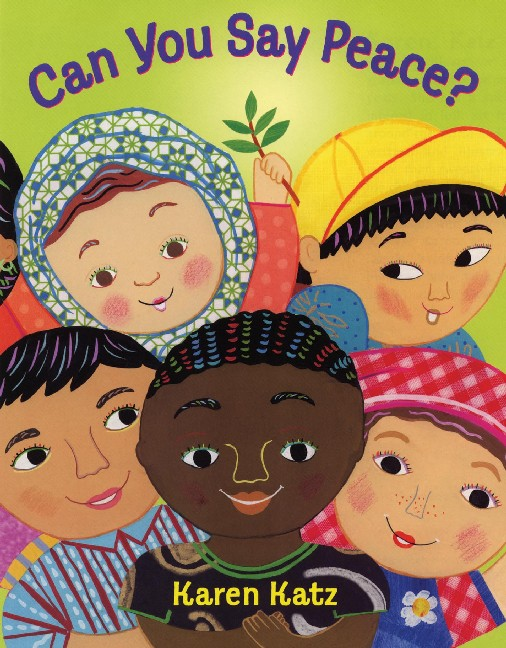 Can You Say Peace Top Preschool Books for Kids