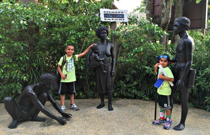 Singapore Night Safari Kids Babies Toddlers Children