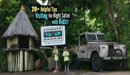 Singapore Night Safari with Children