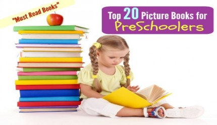 Top 20 Preschool Reading Book List