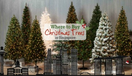 where to buy christmas trees decorations in singapore
