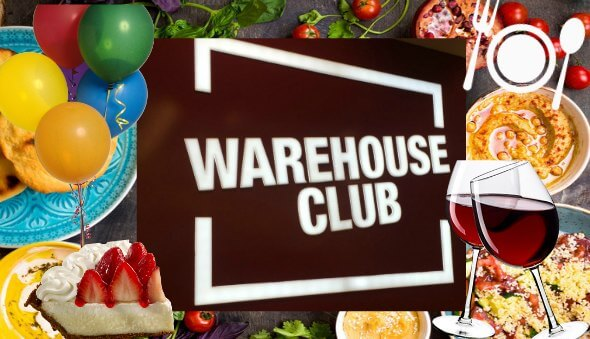 "Shop at ""Warehouse Club"" for all your Party Planning Needs!"