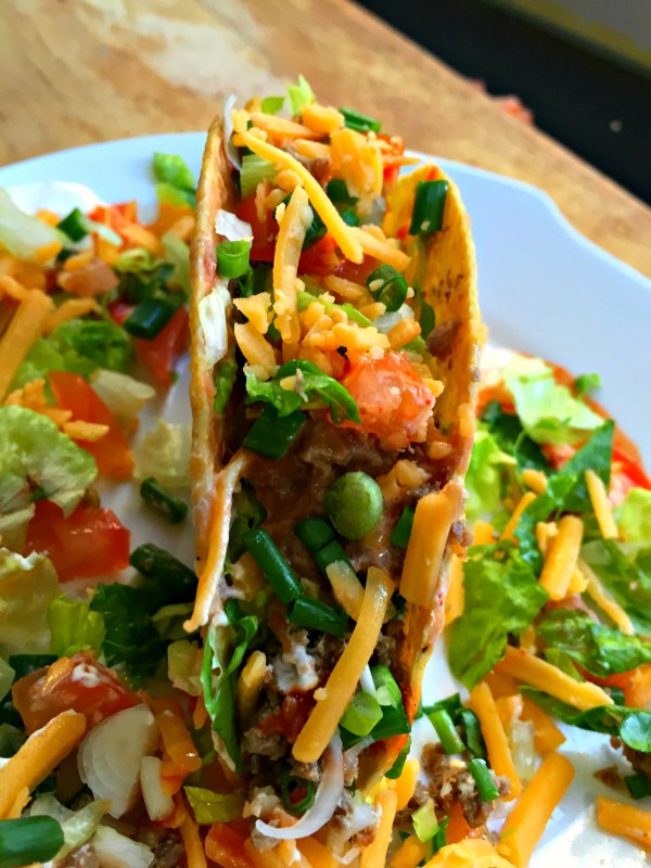 Easy Quick Mexican Taco Recipe Dinner Idea Picky Eater Kids Child Friendly Family Meal Healthy Vegetarian