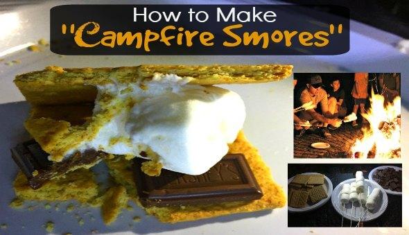 "How to Make ""Campfire"" S'mores"