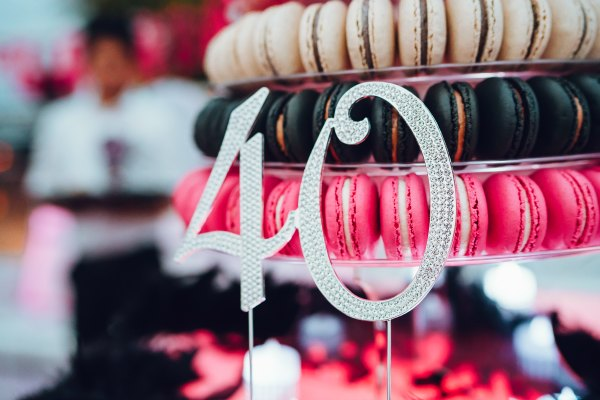 Fabulous 40th Birthday Wedding Planning Party Venue Cake Macarons Decorations Flowers Ideas Singapore Photobooth