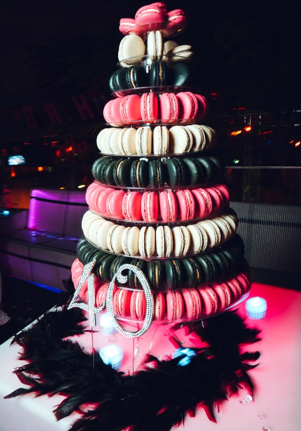 Macaron Tower Wedding Favour Customised Macarons Singapore Sg Delivery Party Centerpiece Cake Anniversary