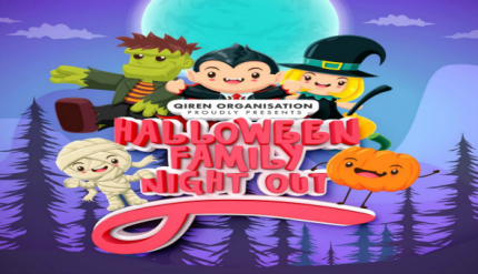 Halloween Family Night Out Singapore 2017 Event