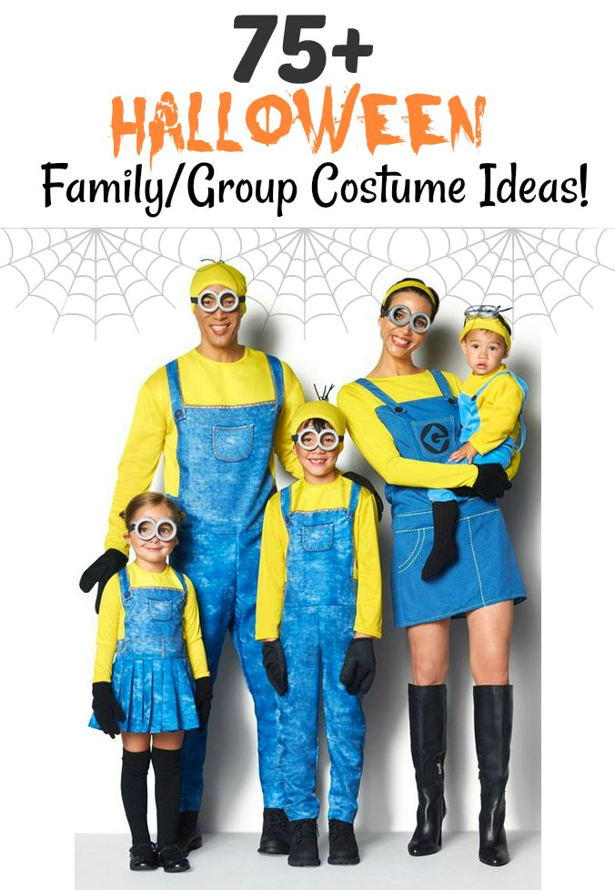 75 Halloween Family Group Costume Ideas