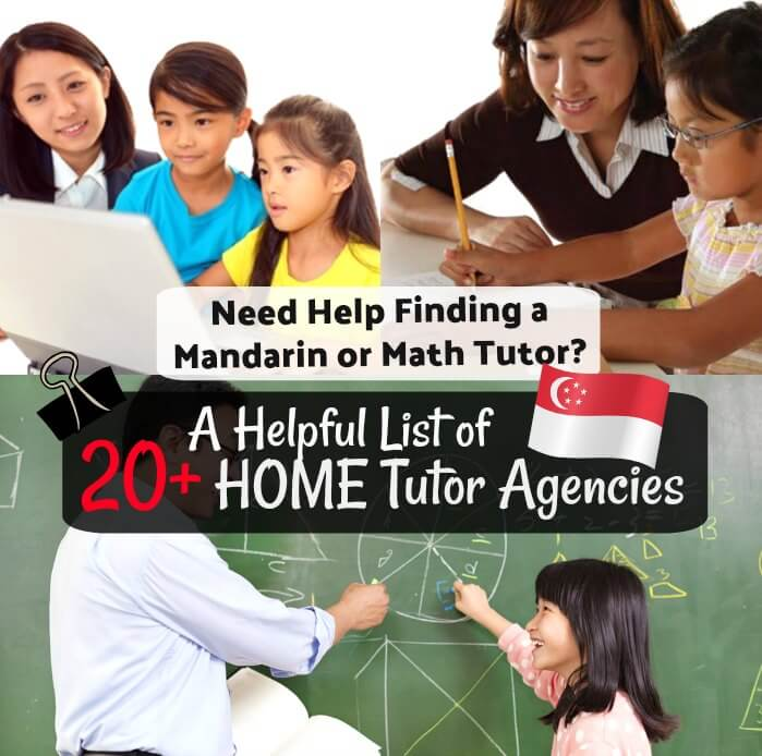 Home Tutor Tuition Agencies in Singapore for Mandarin Math English Science