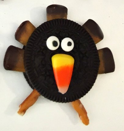 6 Thanksgiving No Bake Easy Turkey Cookie Recipe