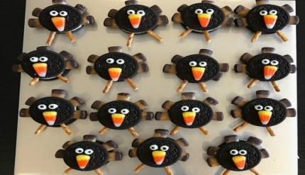 Thanksgiving Easy Cookie Recipe No Bake Dessert Turkey Food Ideas