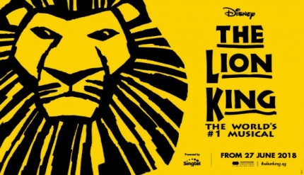 Lion King musical singapore 2018 tickets promotions discounts marina bay sands dates