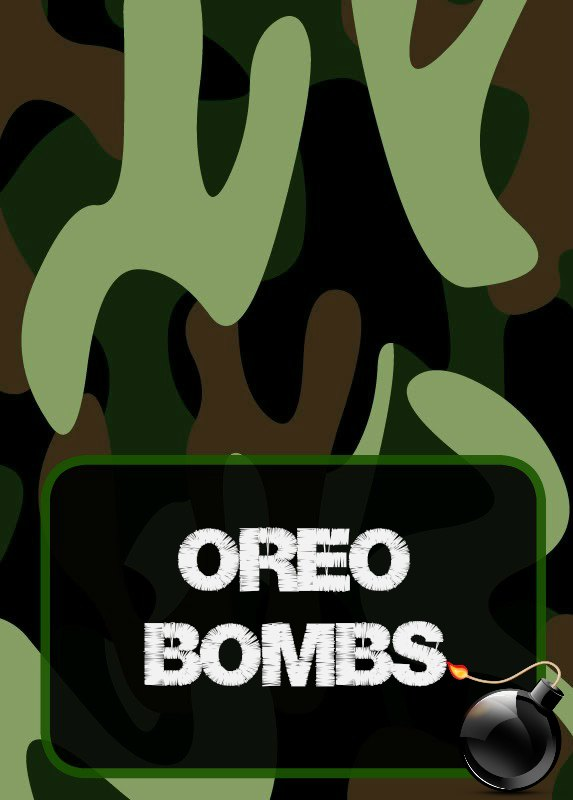 Free Printables Party Food Labels Military Camouflage Army Laser Tag