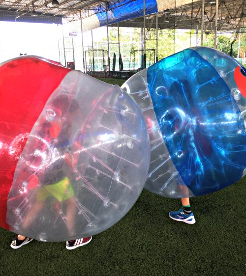 Bubble Soccer Bump Singapore Kids Birthday Party Package 2