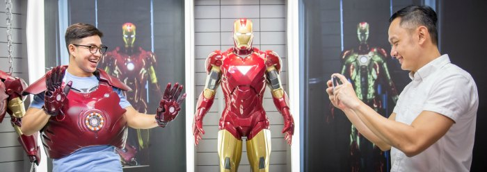 Sentosa Madame Tussauds Singapore - Marvel 4D Experience Promotion Discount Mothers Day Activities