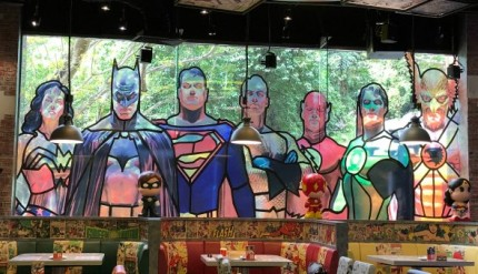 DC Super Comics Super Heroes Cafe Review Singapore Menu Promotion Discounts Food Kids Child Friendly Restaurants MBS Takashimaya 21