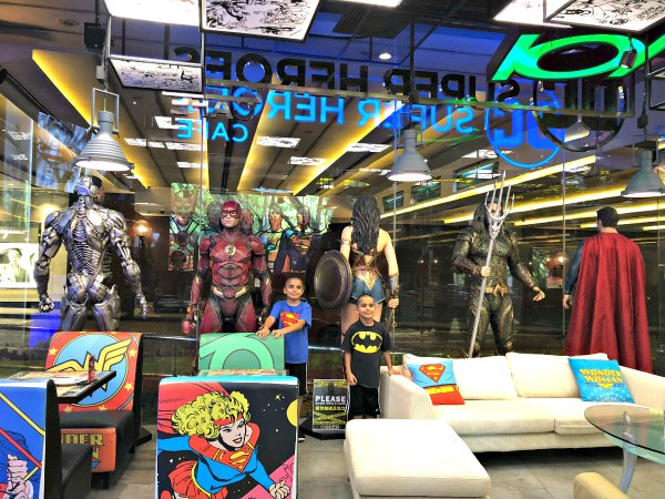 DC Super Comics Super Heroes Cafe Review Singapore Menu Promotions Discounts Food Kids Child Friendly Restaurants MBS Takashimaya 3