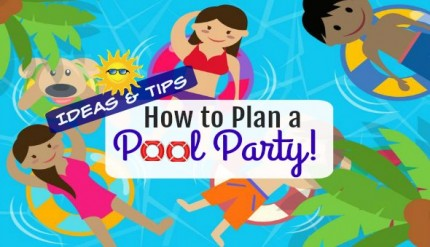 Swimming Pool Party Ideas for Kids Birthday Singapore Pool Food Floats Pool Games Pool Toys