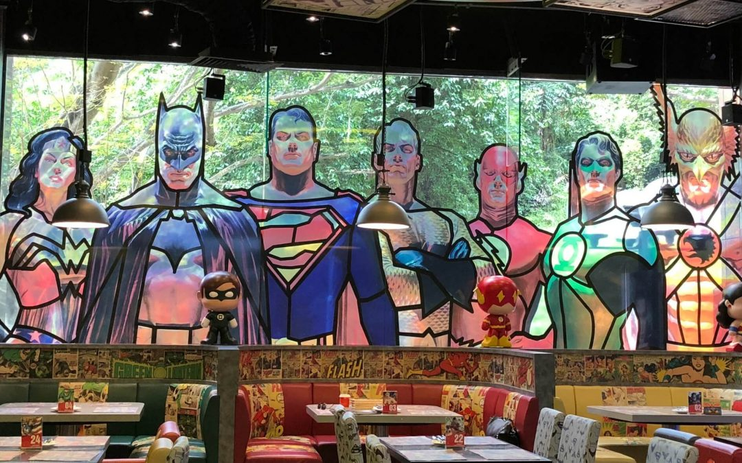 DC Super Heroes Cafe – A Child Friendly Restaurant for Families