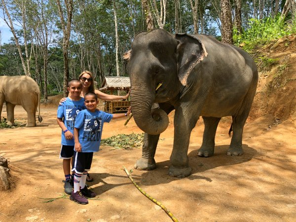 Elephant Jungle Sanctuary Review - Things to do in Phuket Chiang Mai Thailand with Kids, Babies, Toddlers 4