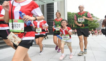 Make A Wish Santa Run Holiday Christmas Event Singapore Promotion Discount Race Pack Collection 2