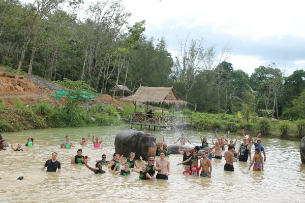 Things to do in Phuket Chiang Mai with Kids Elephant Jungle Sanctuary Review Promotions Discounts 3
