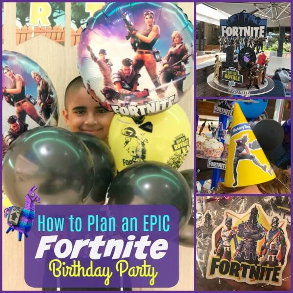 How To Plan An Epic Fortnite Birthday Party